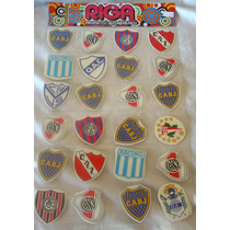 48 Calcomanias Autoadhesivas Clubes Futbol Argentina