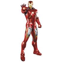 Silueta Mural Iron Man 65 X 180 Cm, Recortada Y Autoadhesiva