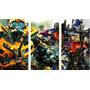 Cuadros Trípticos Transformers