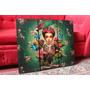 Cuadros Artesanales Frida Kahlo. Arte. Diseño Y Decoración.