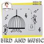 Vinilos Decorativos Pájaros Y Música