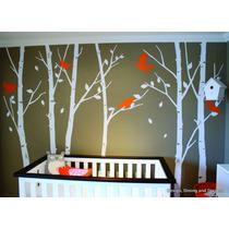 Vinilo Decorativo Infantil Bebe Niño Arbol 200cm X 200cm