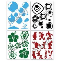 Ploteo Vinilo Decorativo 6 Al Precio De 4 Calco Sticker20x25
