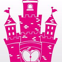 Vinilos Decorativos Para Pared Infantiles. Castillo