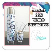 Termo Personalizado .plotteo Vinilo Decorativo- Vf-design
