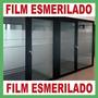 Microcentro | Film-vinilo Esmerilado Adhesivo 1,22 X 1 Mts