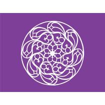 Mandala Modelo A 15x15cm Vinilos Autoadhesivos Decorativos
