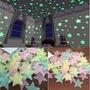Pegatinas De Pared Estrellas Fluorescentes X70u