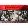 Set Mural Cuadros Guernica - Pablo Picasso - 1,2 Mt Ancho!