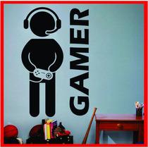 Vinilos Decorativos - Gamer - Press Start!