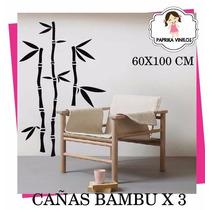 Cañas De Bambu En Vinilo