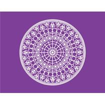 Mandala Modelo B 15x15cm Vinilos Autoadhesivos Decorativos