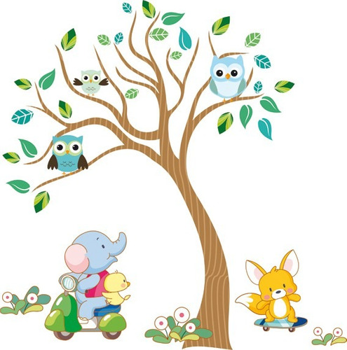 1000 images about ideas mural on pinterest trees four for Vinilos decorativos infantiles