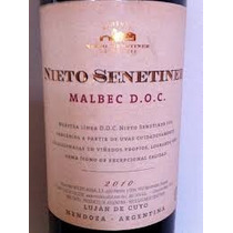 Vino Nieto Senetiner Malbec Doc X 750 Cc/ Solo Envios