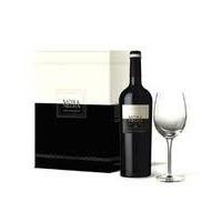 Estuche De Vino Mora Negra+copa /solo Envios