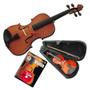 Violin De Estudio Stradella 3/4 Con Estuche Arco Y Resina