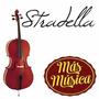 Stradella Mc6011 Violoncellos Estudio Tapa D Pino Funda Arco