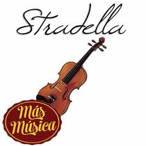 Stradella Mv1419 Violin 4/4 Tapa De Pino Estuche Arco Resina