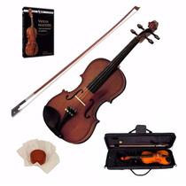 Violin Stradella Mod.1415 Todo Macizo!! Estuche Arco Resina