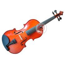 Violin Ancona Vg106 Macizo 4/4 Con Estuche Arco Resina Envio