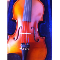 Violin Ancona Vg 200 (ex Cremona) Ebano Macizo