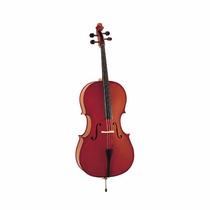 Violoncello 4/4 Macizo Stradella Mc601244 + Arco Y Funda