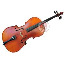 Violoncello Ancona Cg103 Macizo Cello 4/4 Funda Arco Resina