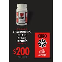 Kuro Comprimidos De Ajo Negro Japones.