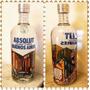 Nuevo Vodka Absolut Bs As Botellas De 750cc Banfield