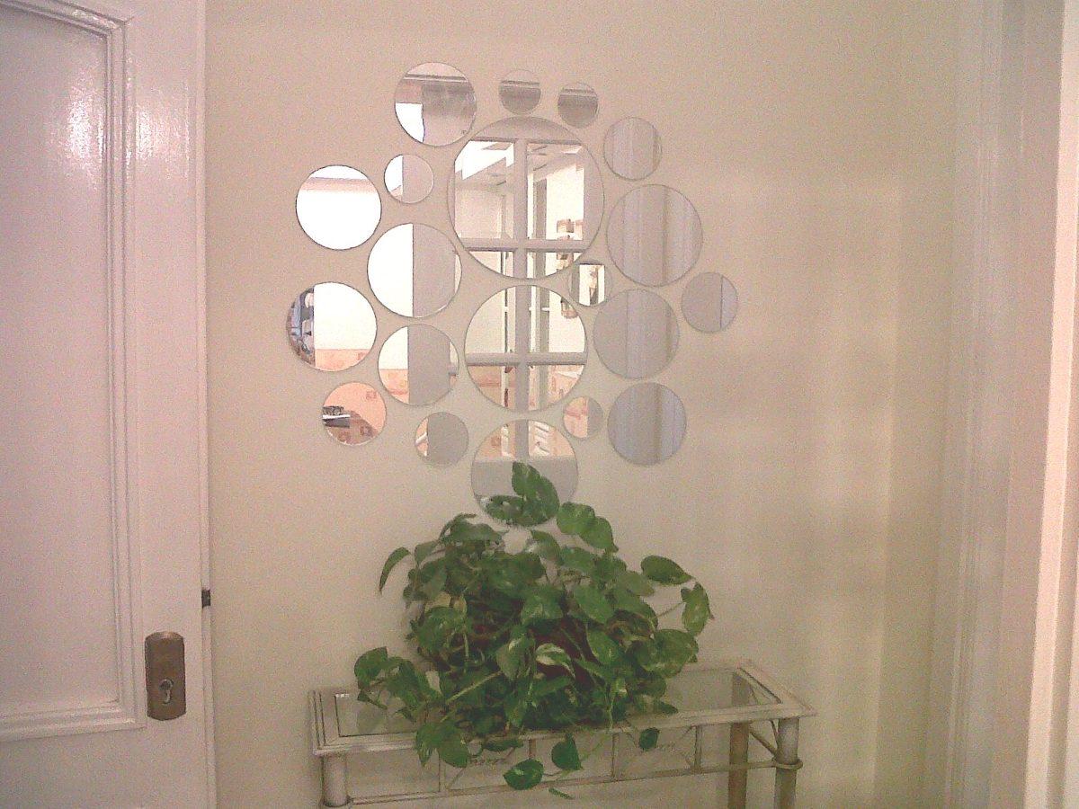 Kit espejos redondos c rculos de colores living for Espejos para colgar