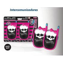 Walkie Talkie Monster High Original De Mattel