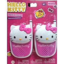 Walkie Talkies Hello Kitty Original Mattel Intercomunicador