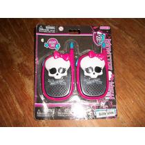 Walkie Talkies Monster High, Original..