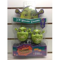 Walkie Talkie Shrek Intek Envio Sin Cargo Caba