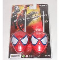 Walkie Talkie De Spiderman Hombre Araña