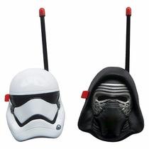 Walkie Talkie Star Wars Kylo Ren Y Storm Trooper