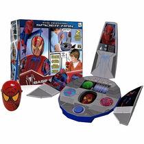 Spiderman Estacion Base Con Walkie Talkie Comunicate Para Tu