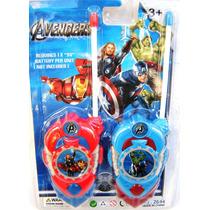 Walkie Talkie Cars - Avengers/vengadores