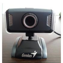 Webcam Genius Islim 1320 Usb De 1,3 M Pixel Con Microfono