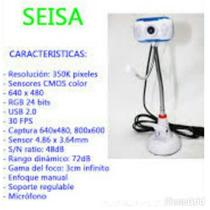 Cámara Web De Pie+ Micrófono Seisa Mod St1020