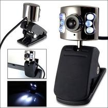 Webcam Seisa Lt-268t De 350k Con Micrófono Y Leds.