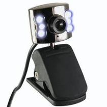 Web Cam 640x480 C/ Luz Y Microfono Nueva Local En Belgrano