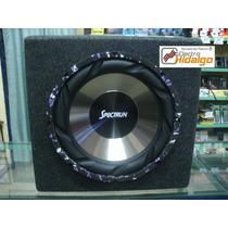 Combo Subwoofer 12 600 W + Caja Acustica A Medida Spectrun