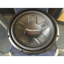 Sub Woofer Pioneer Tsw-311d4 1400 Watts Doble Bobina