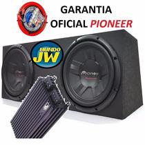 Combo Doble Pioneer 311 + Caja + Potencia + Kit + Gtia Ofic.