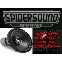 Woofer Audiopipe 12 300 W Rms Doble Bobina