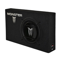 Subwoofer Monster 12 Chato Con Cajón Slim 1000w X-124s