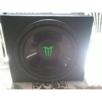Woofer Monster 12 + Potencia Phillips De 1000w