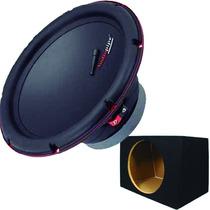 Combo Subwoofer Audiopipe 10 300 Rms Doble Bobina + Caja