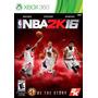 Nba 2k16 Xbox 360 -fisico/ Nuevo- Game Zone